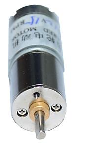 16ga 15rpm (130) 12v 3 milímetros eixo mini-dc motor caixa de engrenagem voltada para o carro inteligente