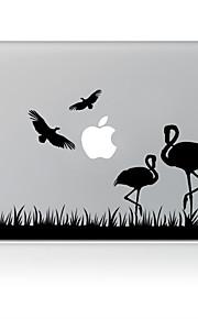 svane utforming dekorative hud klistremerke for MacBook Air / pro / pro med retina-skjerm