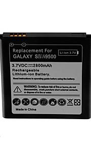 batería de repuesto - 2800 - Samsung - Samsung i9500 S4 - i9500 - No