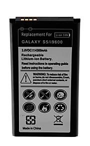 4300 - Samsung - Galaxy S5 Active - vervang batterij - GALAXY S5/i9600 - Nee