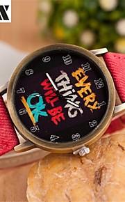 mão de moda pulseira de quartzo analógico relógio das mulheres (cores sortidas)