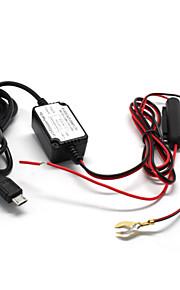 micro-usb-poort auto-oplader 5v 1.5a tachograaf / gps navigator auto-oplader 12-24V
