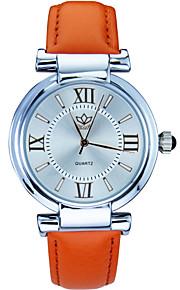 Relógio de pulso - Mulher - Quartzo - Analógico - Flor