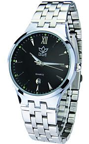 Relógio Elegante ( Calendário/Cronógrafo ) - Analógico - Quartz
