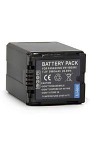 VW-VBG390 - Li-ion - Batterij - voorfor Panasonic HDC-SD700 HDC-HS350 SX5 DX3 DX1GK TM650 TM350GK TM700 <br> HDC-TM20 HDC-TM200 HDC-TM300