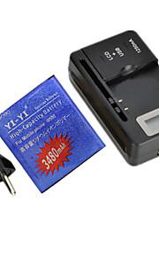 batería de repuesto - 3480 - Samsung - Samsung i9500 S4 - S4B - Sí - USA/UE/USB -