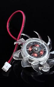 4010 Small Fan 4cm Host Desktop Graphics Card Fan Radiator Cooling Fan