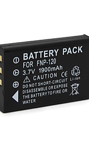 FNP-120 - Li-ion - Batterij - voorfor FUJIFLIM FinePix F11 FinePix M603 FinePix F10 FinePix F10 Zoom FinePix 603 FinePix M603 Zoom