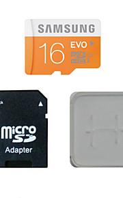 samsung 16gb class10 40m / s cartão de memória TF eo cartão de memória e caixa de adaptador do cartão de memória