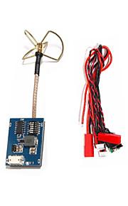 fpv 5.8GHz 32CH 200mw av transmissor módulo tx sky-8200 3 lâminas trevo antena