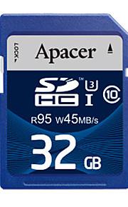 Apacer uhs-i cartão SDHC de 32GB de memória u3 class10 R95 / W45