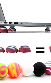coosbo® Super-Mini-Wärmereduktion Stand Bälle für Laptopnotizbuch (gelegentliche Farbe)