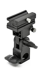 mengs® tipo b suporte de inclinação para flashes com sapata universal