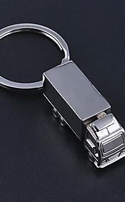 Car Truck Optimus Prime Key Chain Stainless Steel Key Ring Organizer Holder for Gift