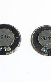 8 ohms 1W small speaker / speaker diameter 2.8CM(2Pcs)