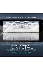 루미아의 640xl에 대한 nillkin 맑은 내 지문 화면 보호 필름