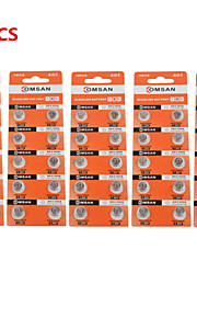 comsan AG3 LR41 392 hoge capaciteit knop batterijen (50 stuks)