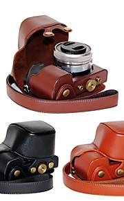 dengpin pu tampa da caixa de couro câmera saco para sony ilce-6000L A6000 ILCE-6000 com lente 16-50mm (cores sortidas)