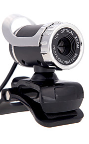 2015 nieuwe usb 2.0 12 m HD-camera webcam 360 graden met mic clip-on voor desktop skype computer pc laptop