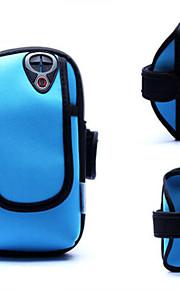 multicolor pacchetto braccio jack per cuffie di iphone 4 / 4s 5 / 5s 5c (colori assortiti)