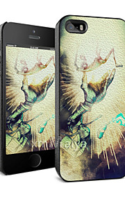 colorato le coperture di protezione disegno stile di modo per iphone5 / 5s -maiya-m11331