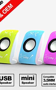 besteye® FX-128 pari USB2.0 puhuja 3d stereo surround mobiili -kannettava USB-kaiuttimet