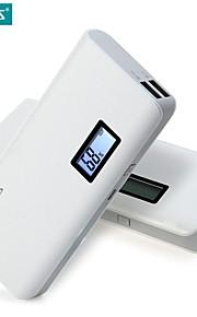 sens romoss 4 plus 10400mAh chargeur portable batterie externe bloc d'alimentation à la banque de charge rapide avec lcd pour téléphone