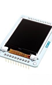"""1.8"""" TFT LCD Expansion Board w/ Micro SD for Arduino Esplora"""