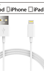 lontion mfi lyn til usb 2.0 lader& sync-kabel for iPhone5 / 5s iphone6 ​​/ 6plus ipad luft / mini og andre