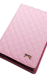 Folding Rhombus PU Leather Case with Stand for iPad 1/2/3 /4(Assorted Colors)