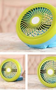 nye mini usb folde kompakt desktop fan (assorterede farver)