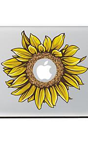 girasole autoadesivo della pelle decorativa per l'aria macbook / pro / pro con display retina