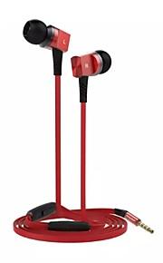 den nye mode på 3,5 mm generelle in-ear hovedtelefoner (assorterede farver)