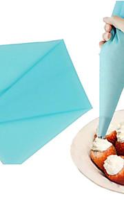 bolo pequeno tamanho creme de decoração ponta pastelaria saco de tubulação de silicone ferramenta (1 pc)