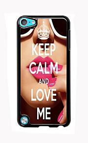 Keep Calm and Love Me Design Aluminum High Quality Case for iPod Touch 5