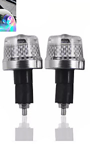 1-Pair Bicycle Front Lights Bar End Lights