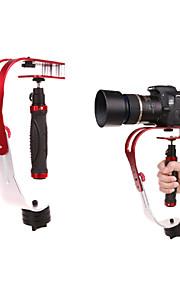 pro câmara de vídeo estabilizador steady cam de vídeo portátil câmera estabilizador constante com a GoPro, canhão, esporte dv