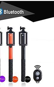 F101 folde selfie sticks twist-låsning selv-stick og fjernbetjening (let at bære)