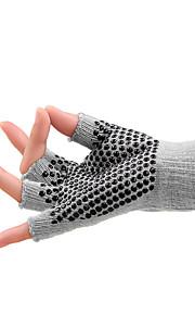 Non-Slip Backless Five Fingers Yoga Gloves