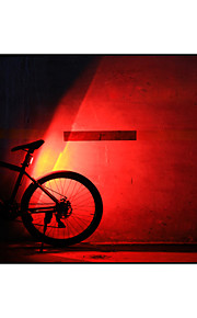 CoolChange 3 Mode 120Lumens Tail Lights/Safety Lights/LED Light Bulbs USB Easy to Carry Cycling Black