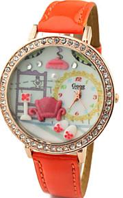 handmake moda watchstyle relógio argila do polímero
