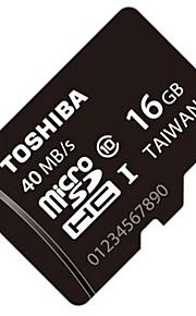 originais Toshiba 16gb class10 UHS-1 micro SDHC cartão de memória 40m / s de alta velocidade