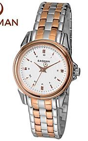 EASMAN Brand Watch for Women Quartz Watch Water Resistant Watches Solid Steel Designer Ladies Clock Watch Wristwatches