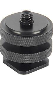 "1/4"" Hot Shoe Connecting Adapter for Gopro Hero 4/3+/3/2/1/sj4000/sj5000/sj6000"