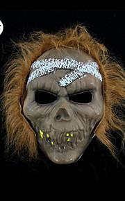רוח רפאים מסכת אימת ליל כל הקדושים מסכת מסכת קצות PVC מסכת גולגולת צלקת פראית