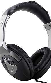 denn DHF 835 casque stéréo sur-oreille avec contrôle du volume du microphone