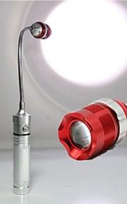 LED - Camping/Vandring/Grotte Udforskning/Dagligdags Brug/Politi/Militær/Jagt/Multifunktion - LED Lommelygter (Justerbart