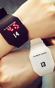 relógio digital de homens mulher do casal assistir alunos simples assistir