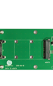 Maiwo SATA TO mSATA Card Interface Card KT008A