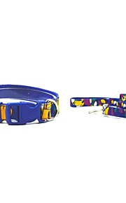 Oxford-The Toucan Style Pet Collar and Leash Suit (Assorted Sizes,Colors)